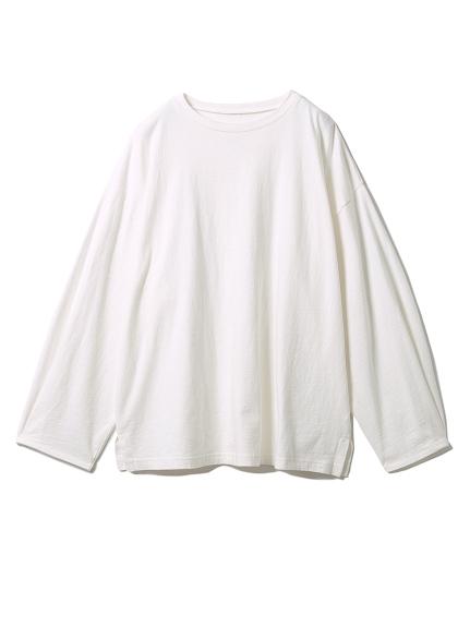 コットンロングTシャツ