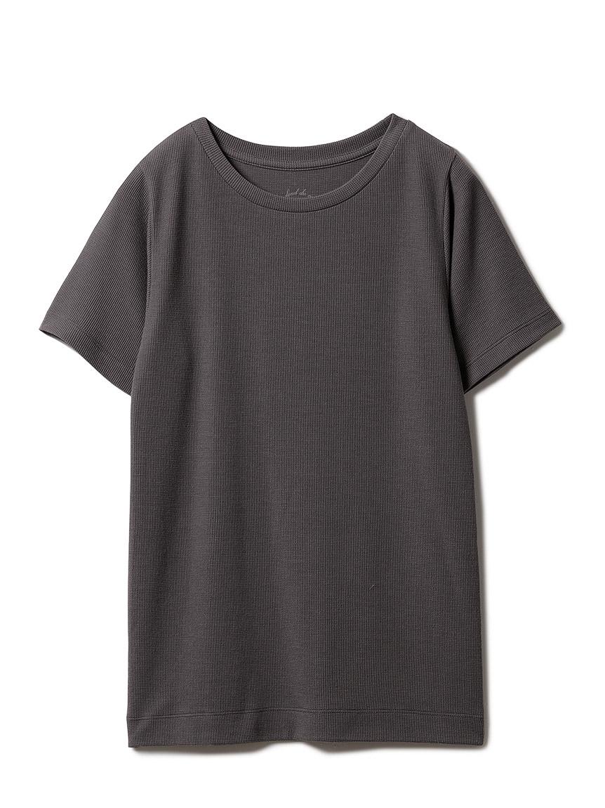 ワッフルTシャツ(CGRY-F)