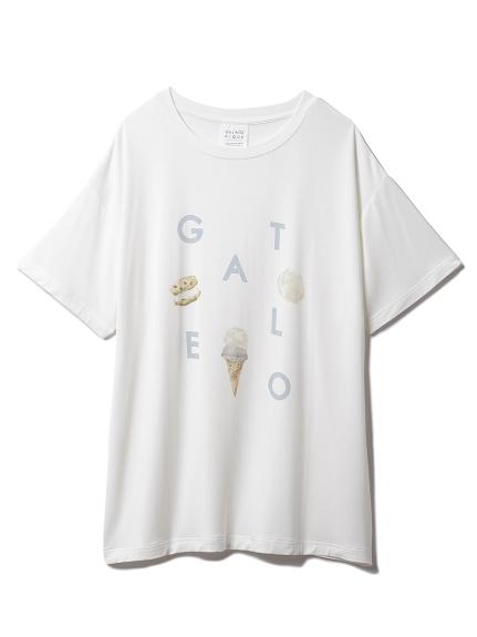アイスロゴワンポイントTシャツ