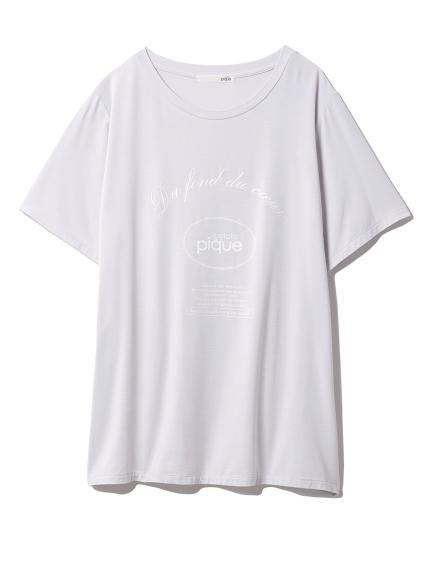 ピケロゴワンポイントTシャツ