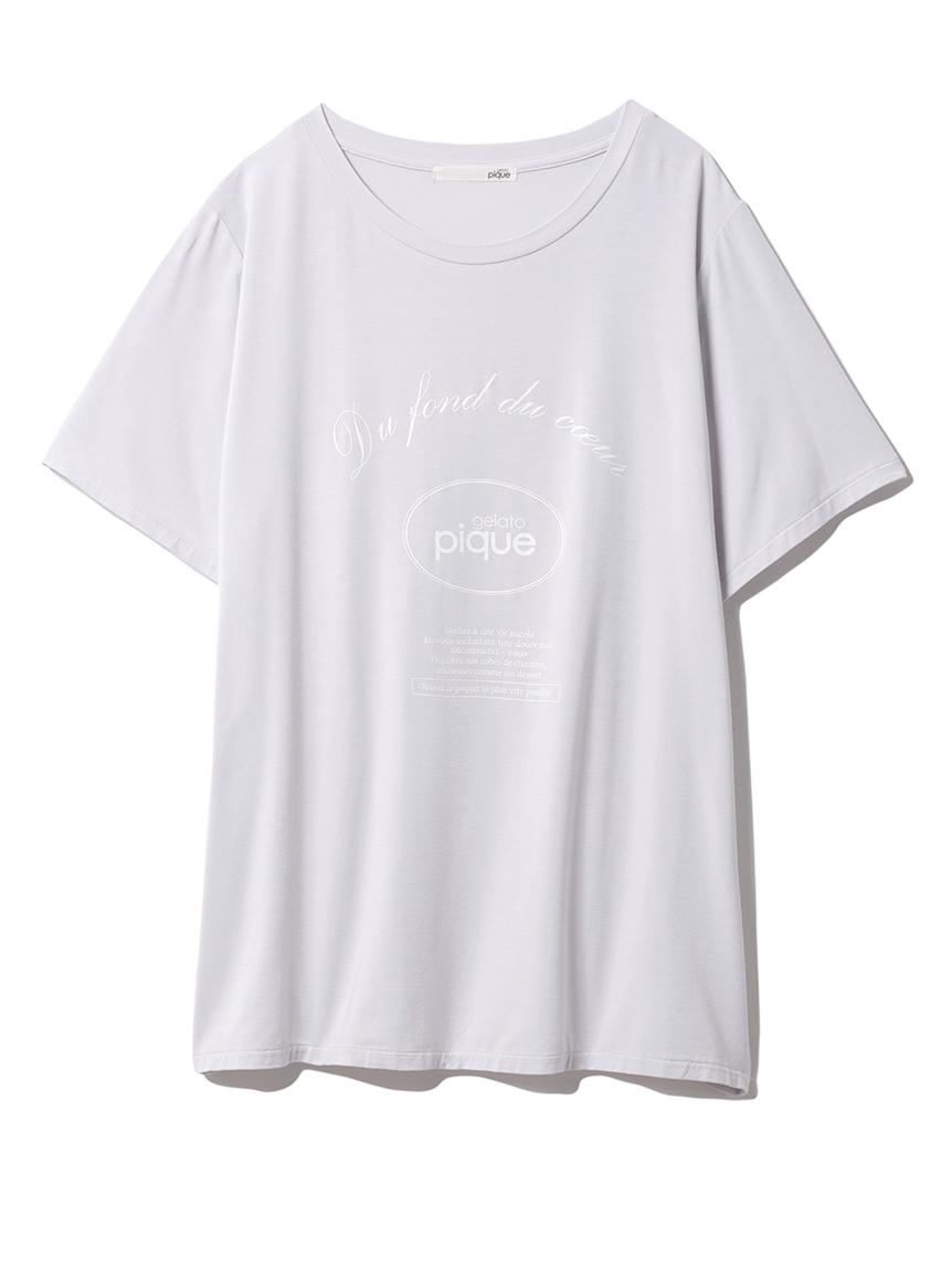 ピケロゴワンポイントTシャツ(BLU-F)