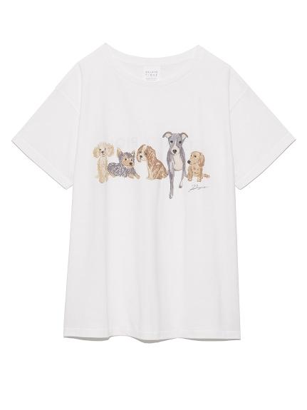 DOGワンポイントTシャツ(OWHT-F)