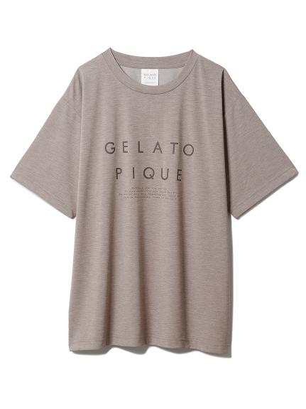 冷感ロゴTシャツ