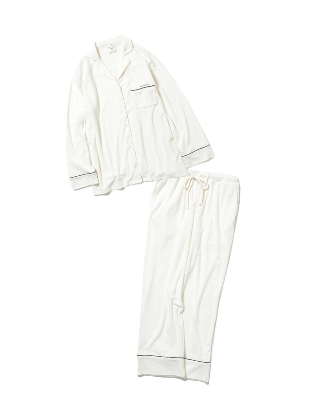 【ラッピング】パイルシャツ&ロングパンツSET(OWHT-F)