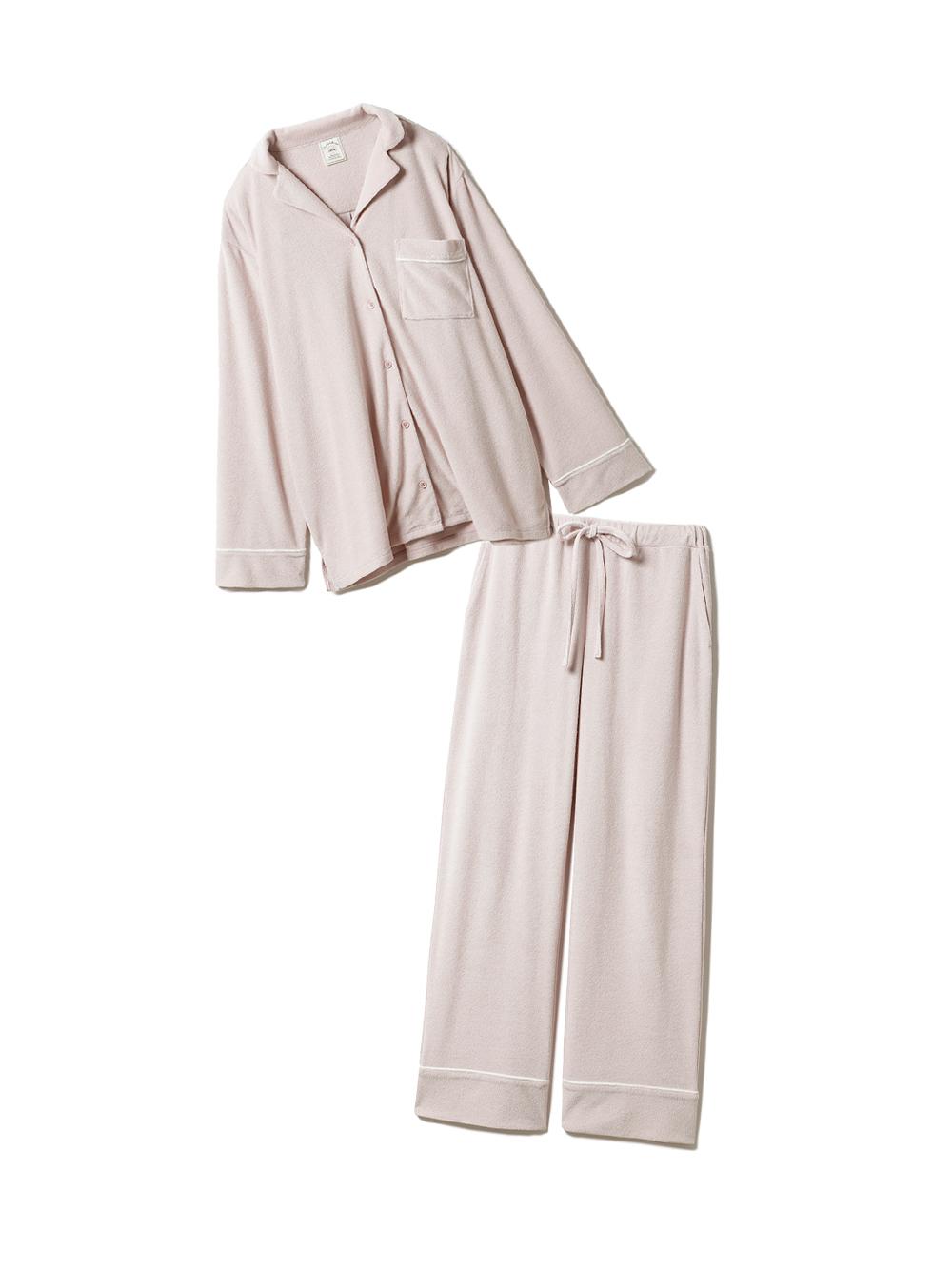 【ラッピング】パイルシャツ&ロングパンツSET(PNK-F)