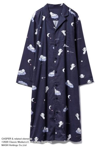 【CASPER】ネルシャツドレス