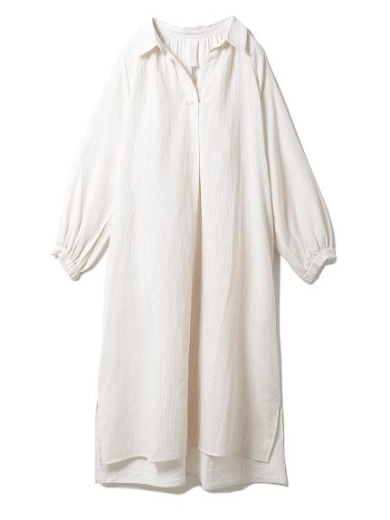 温泉ガーゼシャツドレス(BEG-F)