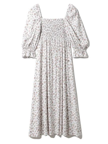 リトルフラワーロングドレス
