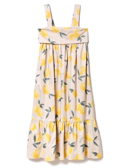 フルーツアロハモチーフドレス