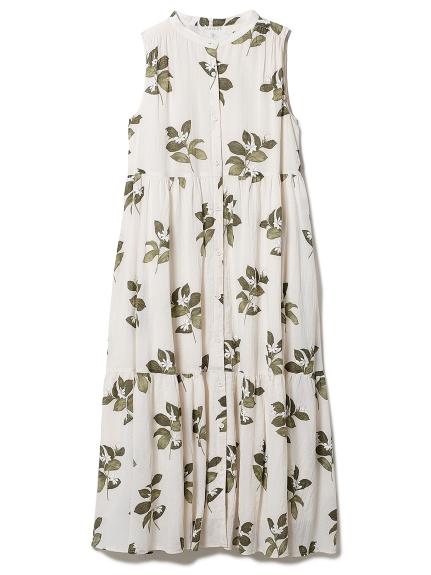 ジャスミンモチーフノースリーブドレス(BEG-F)