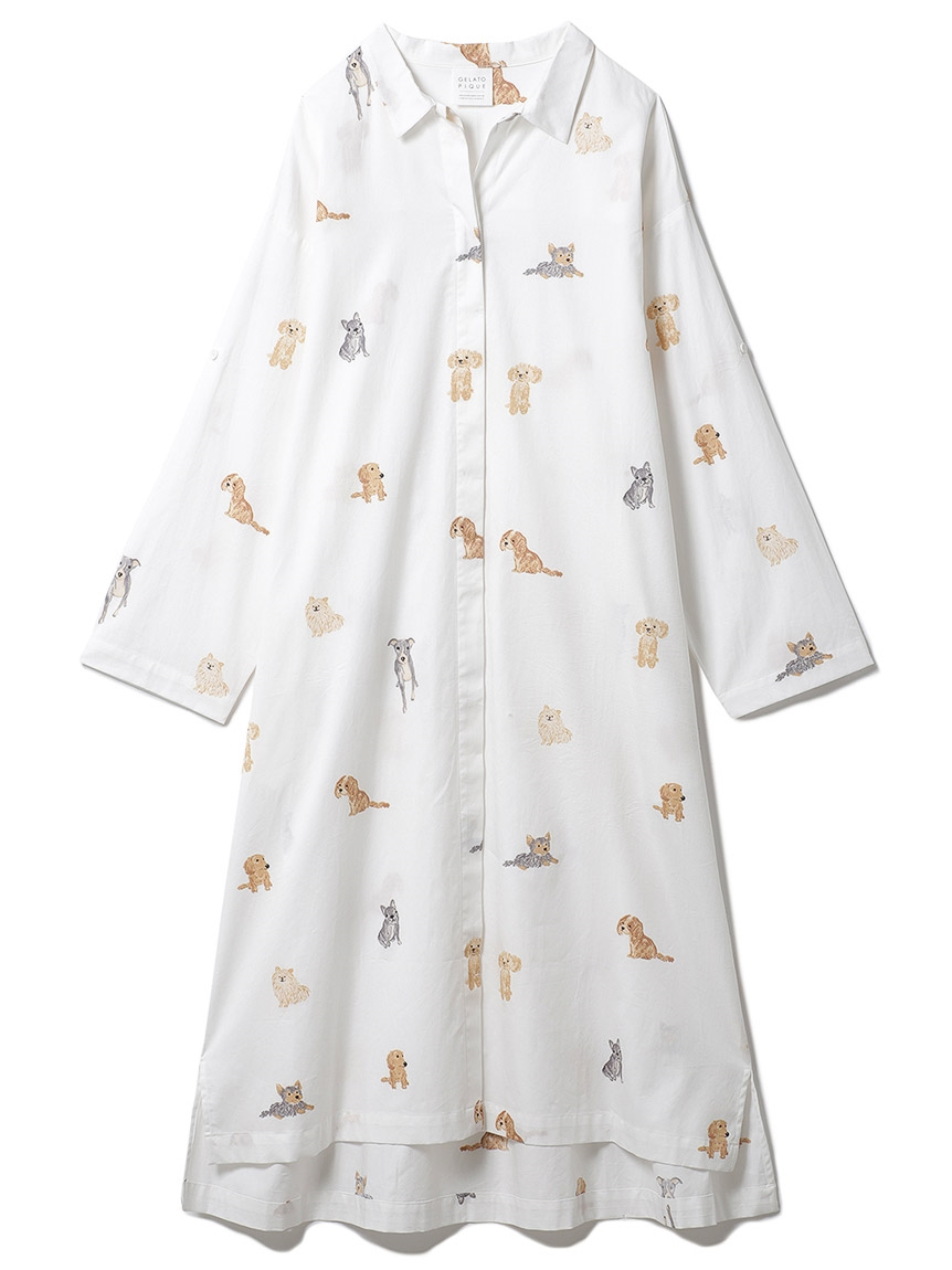 DOGモチーフドレス(OWHT-F)