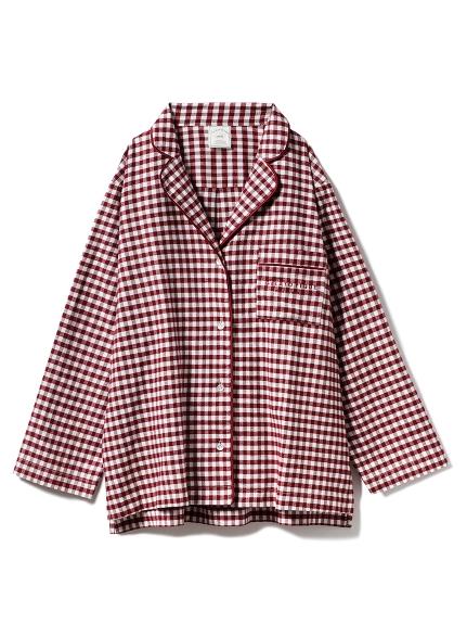 ネルチェックシャツ(RED-F)