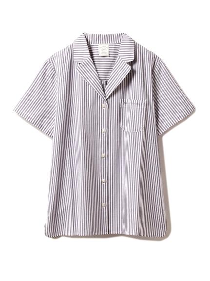 ストライプシャツ(NVY-F)