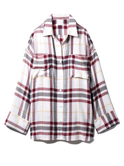 ネルチェックシャツ(OWHT-F)