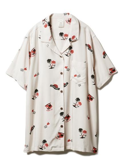 ハワイアンシャツ(BEG-F)