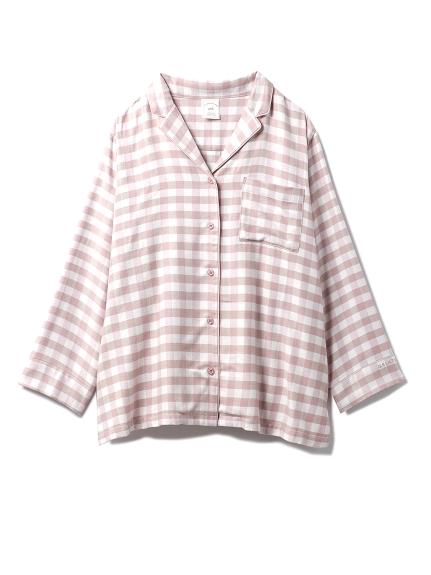 ネルギンガムチェックシャツ(PNK-F)