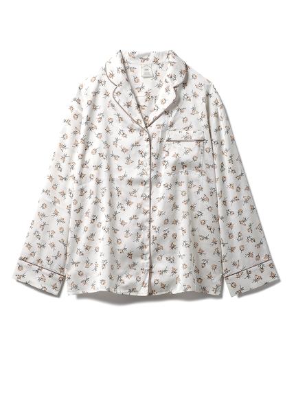 リトルローズサテンシャツ