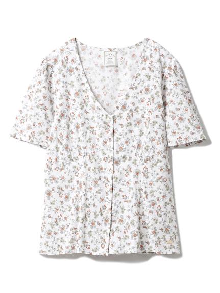 リトルフラワーシャツ(ORG-F)