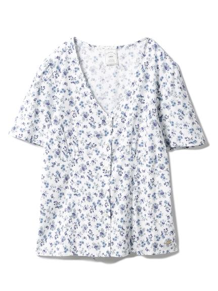 リトルフラワーシャツ(BLU-F)