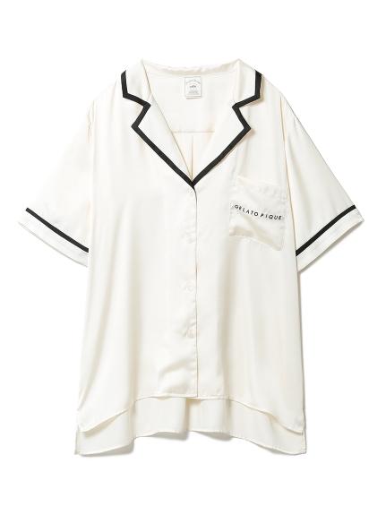 サテンラインシャツ(OWHT-F)
