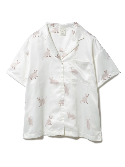 セルカークレックスモチーフシャツ