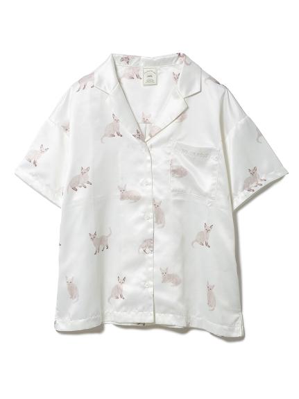 セルカークレックスモチーフシャツ(OWHT-F)