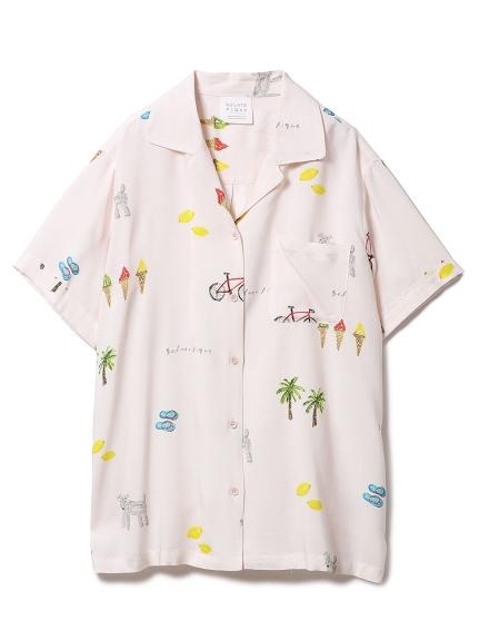サマーモチーフシャツ
