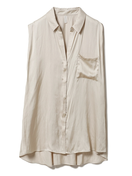 クールサテンシャツ(BEG-F)