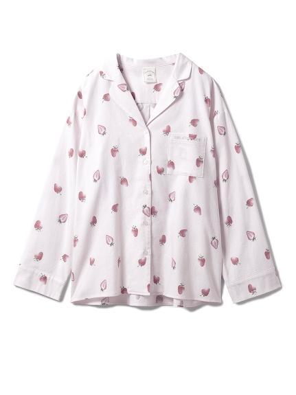 ネルモチーフモチーフシャツ(PNK-F)