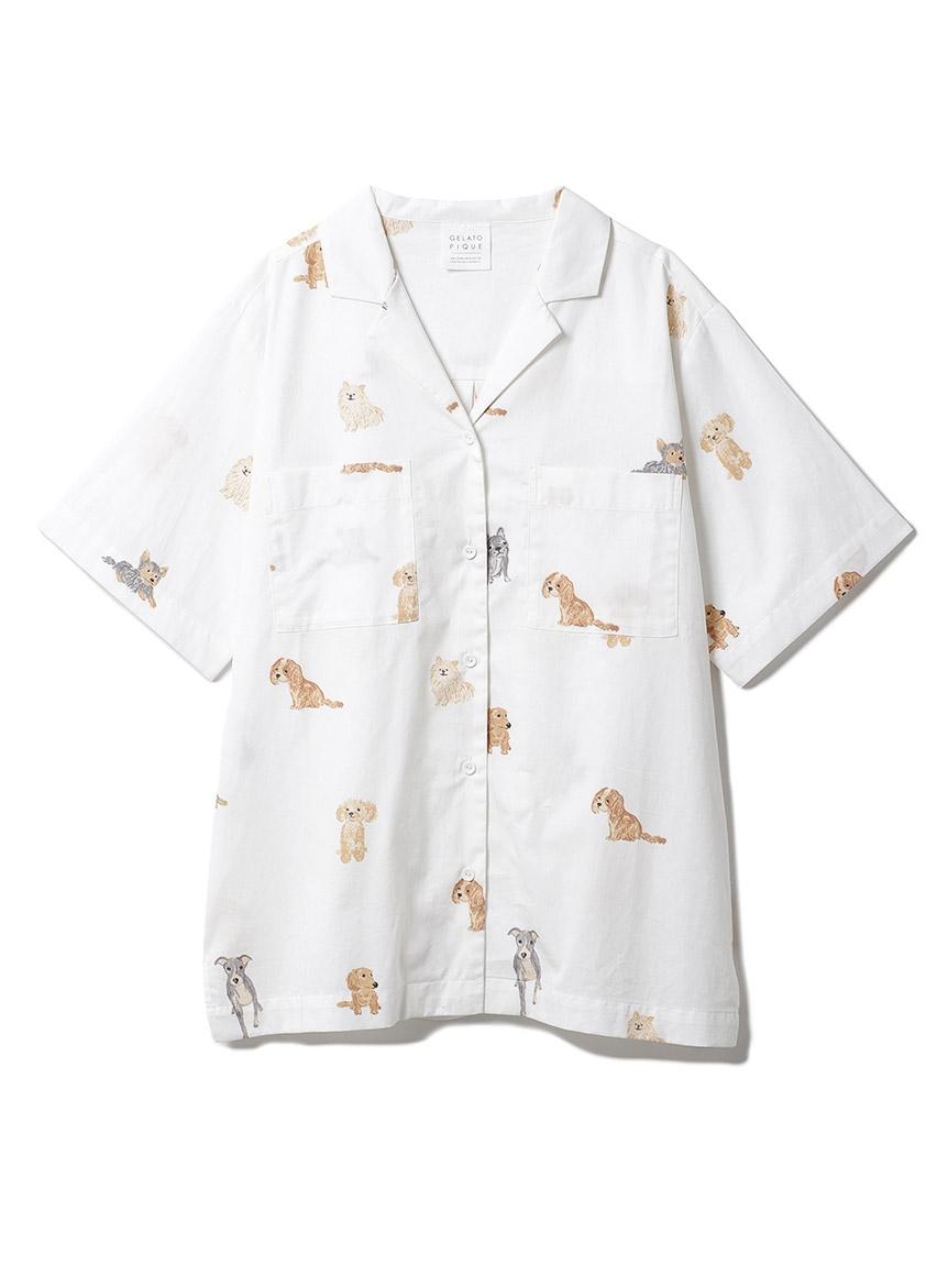 DOGモチーフシャツ(OWHT-F)