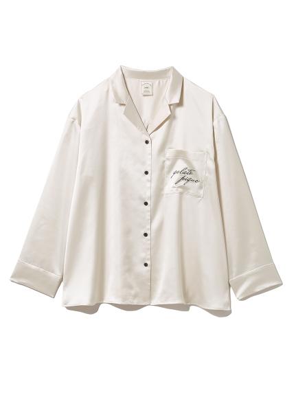 ロゴサテンシャツ(OWHT-F)