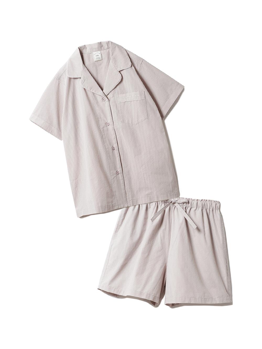 【ラッピング】クールMAXシャツ&ショートパンツSET(BEG-F)