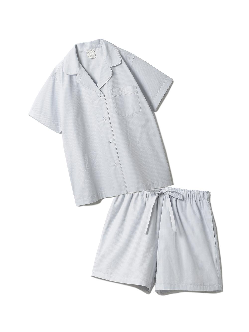 【ラッピング】クールMAXシャツ&ショートパンツSET(BLU-F)