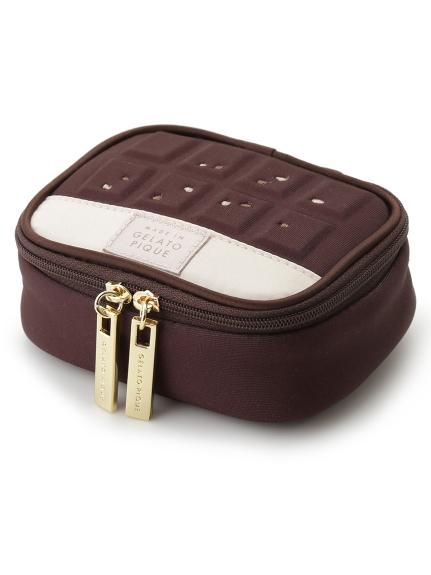 チョコレートバーアクセサリーポーチ(BRW-F)