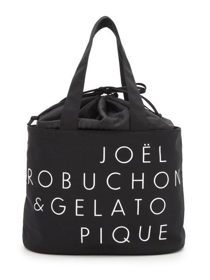 【Joel Robuchon & gelato pique】トートバック保冷ポーチSET(BLK-F)