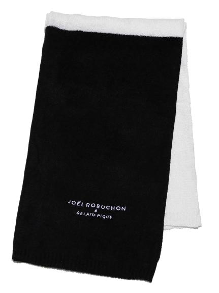 【Joel Robuchon & gelato pique】極薄'スムーズィー'ブランケット(BLK-F)
