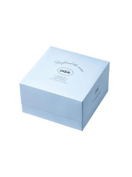 【ご自宅でラッピング】ギフトBOX(中) キット  サイズ 230×230×130(BLU- F)
