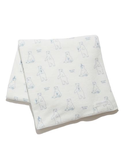 【シロクマフェア】シロクマモチーフバスタオル