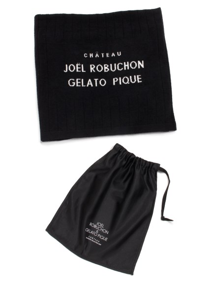 【Joel Robuchon & gelato pique】ブランケット(BLK-F)