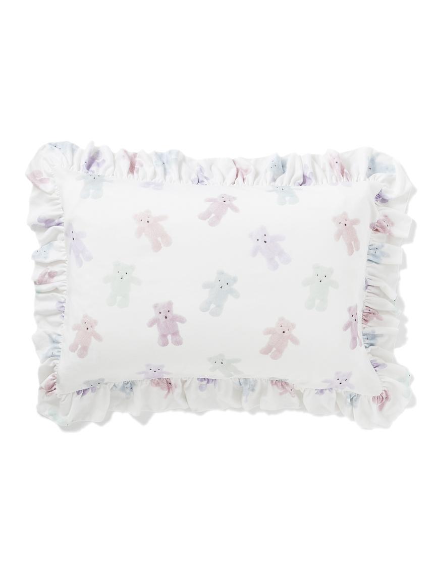 【オフィシャルオンラインストア限定】ベア寝具フリル枕カバー