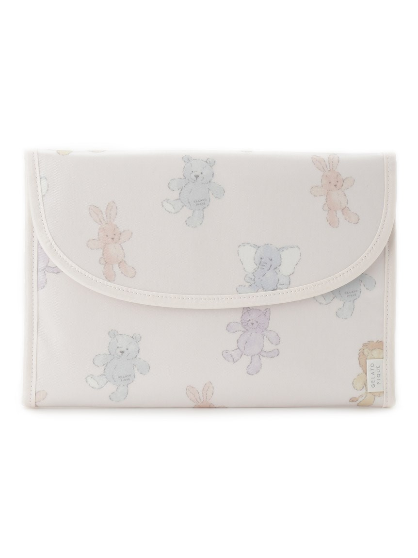 【ONLINE限定】ぬいぐるみモチーフ母子手帳ケースL(PNK-F)