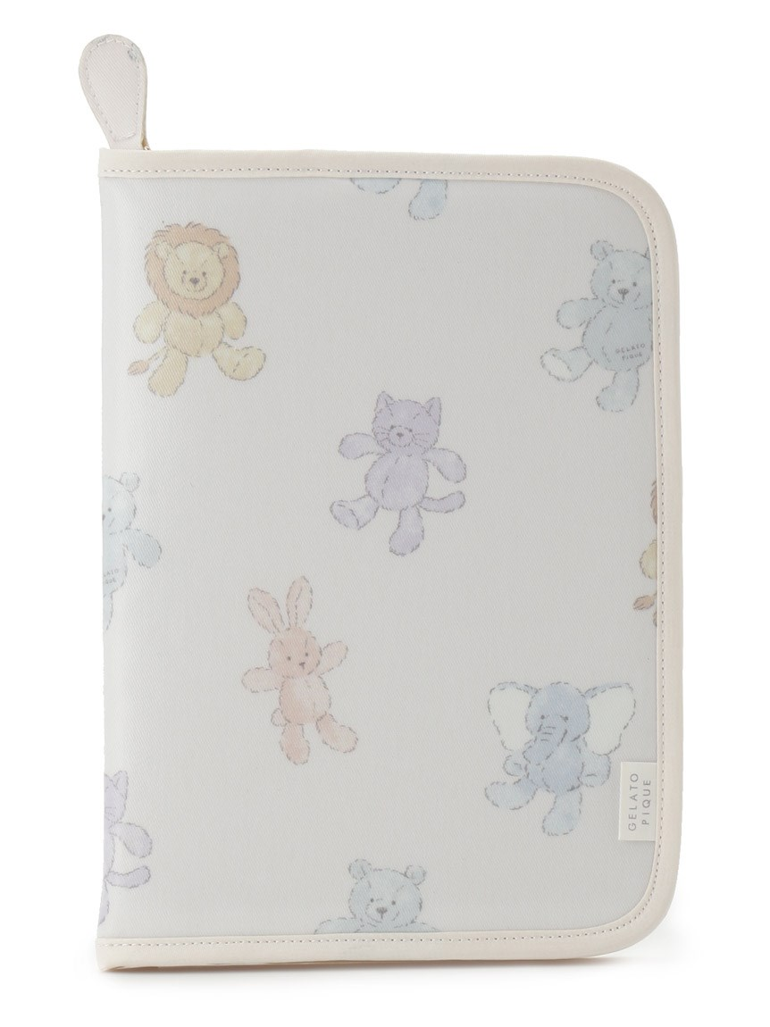 【ONLINE限定】ぬいぐるみモチーフ母子手帳ケース