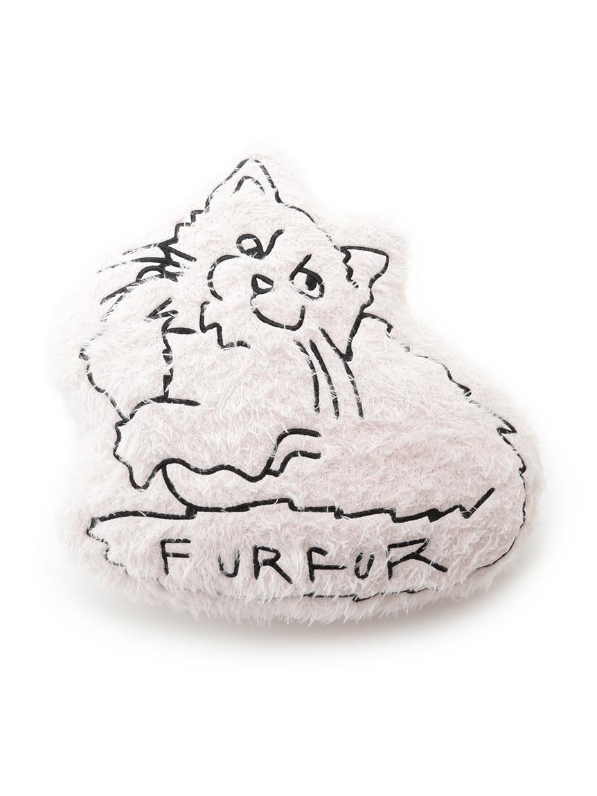 【FURFUR×gelato pique】ネコクッション(PNK-F)
