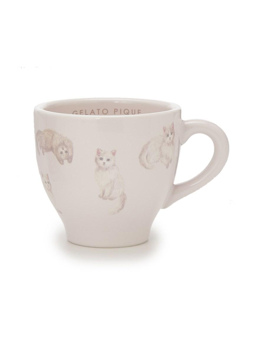 ネコ柄マグカップ