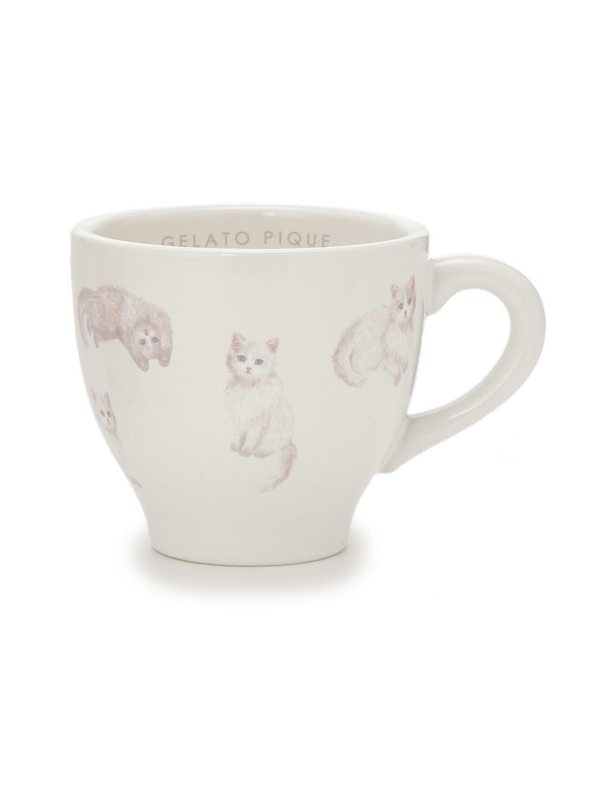 ネコ柄マグカップ(OWHT-F)