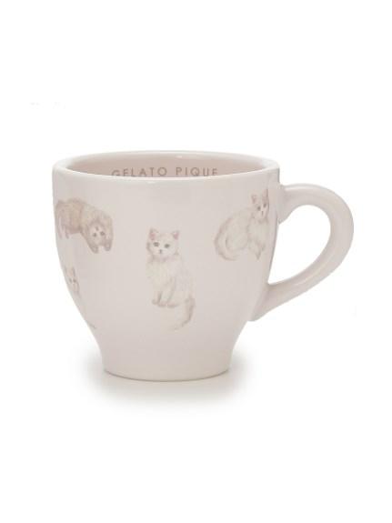 ネコ柄マグカップ(PNK-F)