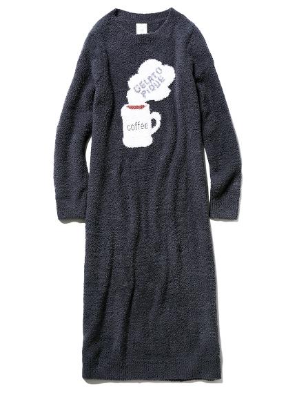 モチーフジャガードドレス(NVY-F)