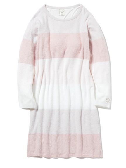 'スムーズィー'ブロックボーダードレス