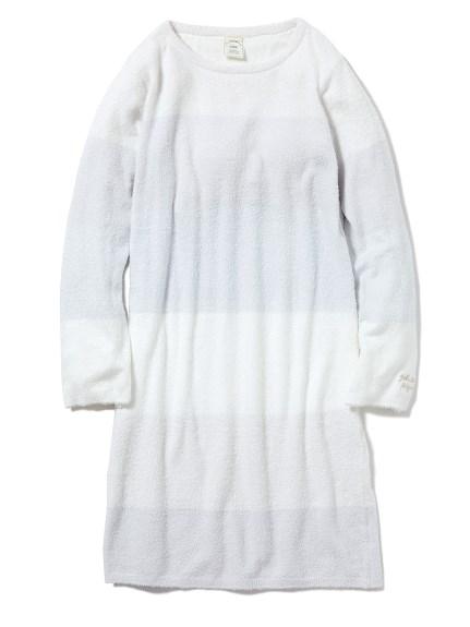 'スムーズィー'ブロックボーダードレス(BLU-F)
