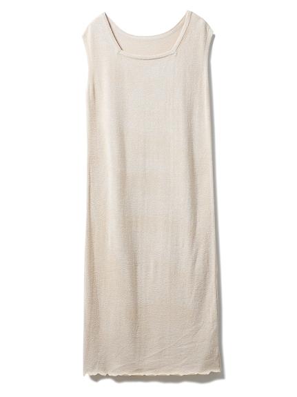 'スムーズィー'スカラップドレス(BEG-F)